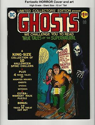 GHOSTS! - BEAUTIFUL HIGH GRADE VF/NM 9.0 - Bronze Age HORROR - HUGE SIZE