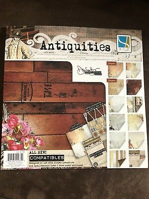 "GCD Studios Scrapbook Paper Pad ""Antiquities"" 12x12"