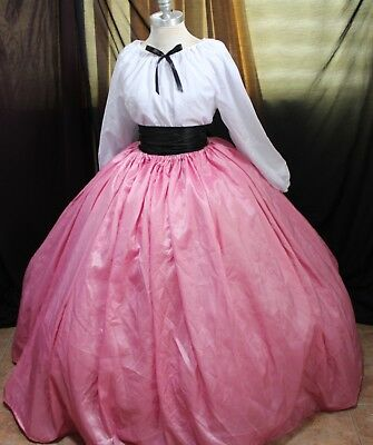 Moda Isabella 3pcs set Pink White Black fit ALL SIZE SPRING PIONEER CIVIL WAR