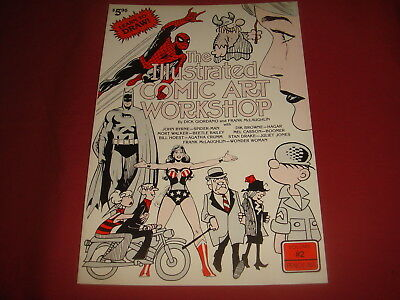THE ILLUSTRATED COMIC ART WORKBOOK #2 John Byrne and others How To Draw SkyMarc