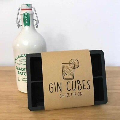 Gin Cubes - Extra Large Ice Cubes For Gin Huge Ice Cubes For Gin And Tonic Fruit