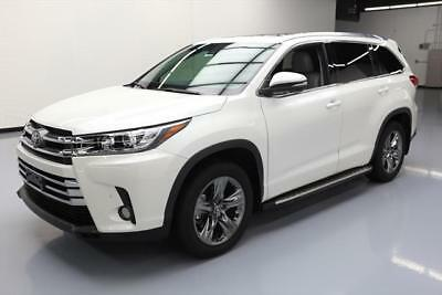 2017 Toyota Highlander Limited Sport Utility 4-Door 2017 TOYOTA HIGHLANDER LTD PLATINUM PANO ROOF NAV 7K MI #206095 Texas Direct