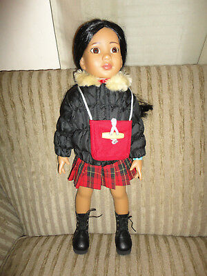 "Magic Attic Doll Rosa 18""  with extra clothes"