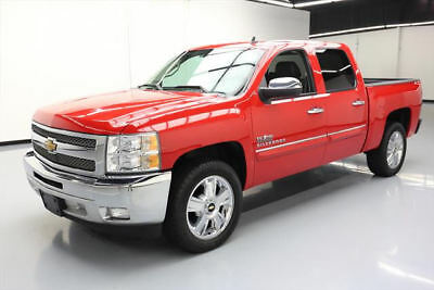 2013 Chevrolet Silverado 1500 LT Crew Cab Pickup 4-Door 2013 CHEVY SILVERADO LT CREW TEXAS LEATHER 20'S 46K MI #380348 Texas Direct Auto
