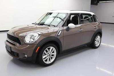 2014 Mini Cooper S S Hatchback 4-Door 2014 MINI COOPER S TURBO 6-SPEED BLUETOOTH ALLOYS 34K #P52054 Texas Direct Auto