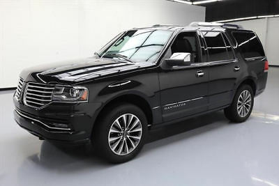 2015 Lincoln Navigator Base Sport Utility 4-Door 2015 LINCOLN NAVIGATOR ECOBOOST NAV REAR CAM 20'S 62K #J02013 Texas Direct Auto