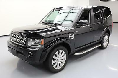 2016 Land Rover LR4  2016 LAND ROVER LR4 HSE LUX SCV6 AWD PANO ROOF NAV 36K #791742 Texas Direct Auto