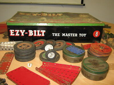 Mecanno-style toy 'EZY-BILT The Master Toy 8' Made in South Australia