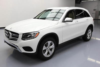 2016 Mercedes-Benz GLC-Class  2016 MERCEDES-BENZ GLC300 PREM REAR CAM HTD SEATS 14K #103220 Texas Direct Auto