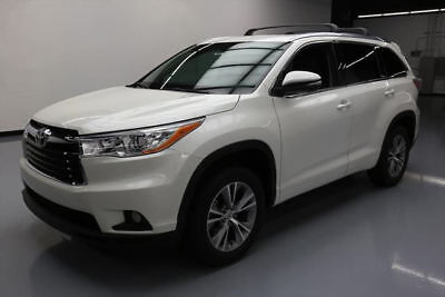2014 Toyota Highlander  2014 TOYOTA HIGHLANDER XLE SUNROOF NAV HTD LEATHER 52K #029876 Texas Direct Auto