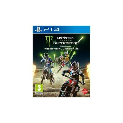 Monster Energy Supercross PS4 Playstation 4