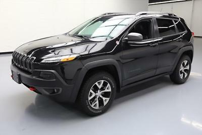 2014 Jeep Cherokee  2014 JEEP CHEROKEE TRAILHAWK 4X4 HTD LEATHER NAV 37K MI #211839 Texas Direct