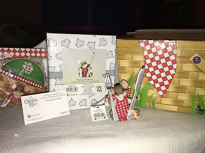 "Charming Tails ""2014 Membership Kit"" DEAN GRIFF NIB Hungry For More"