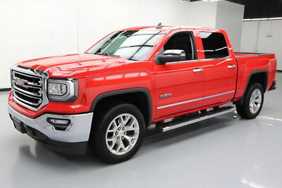 2017 GMC Sierra 1500 SLT Crew Cab Pickup 4-Door 2017 GMC SIERRA SLT CREW TEXAS NAV HTD LEATHER 20'S 6K #397958 Texas Direct Auto