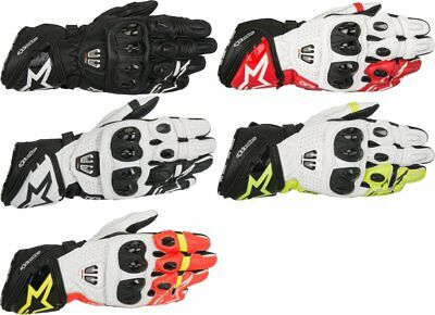 Alpinestars Mens GP Pro R2 Leather Riding Gloves
