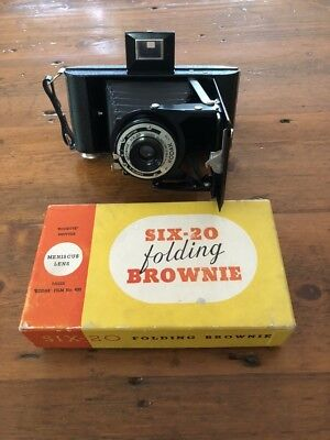 Kodak Folding Brownie Six-20 Camera