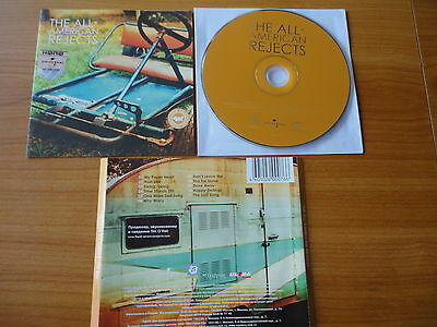 The All-American Rejects - Dreamworks 2003 Like New, Without Box, Free Shipping