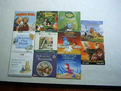 11x  promo cd's JUNGLE BOOK chicken little BUGS LIFE aladdin WINNIE THE POOH