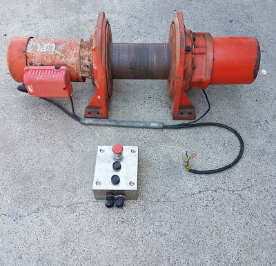 Pacific Electric 500Kg 3 Phase Electric Winch Cable Puller Hoist