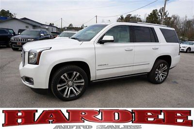 2017 GMC Yukon Denali Sport Utility 4-Door 2017 GMC YUKON DENALI OVER $75K NEW