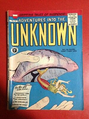 advetures into the unknown no 11 comic by Arnold comics in near mint condition