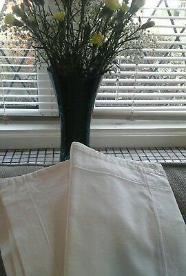 pair of vintage french traditional square pillowcases