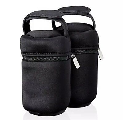 Tommee Tippee Closer to Nature Insulated Bottle Carriers - 2 Pack