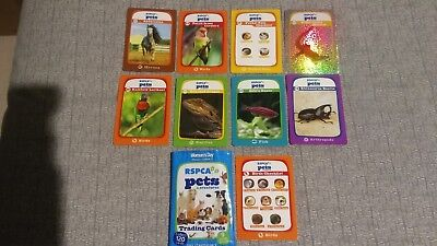 2014 RSPCA Pets & Creatures Trading Cards Starter Pack-9 Cards & Wrapper