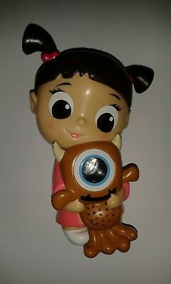 Monsters Inc Boo Doll Holding Toy Talking Projector Nightlight