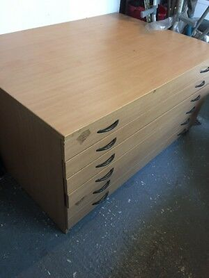 Plan Chest Of Drawers 6 Drawers Good Used Clean Condition