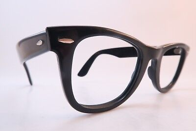 Vintage B&L Ray Ban Wayfarer eyeglasses frames black made in the USA