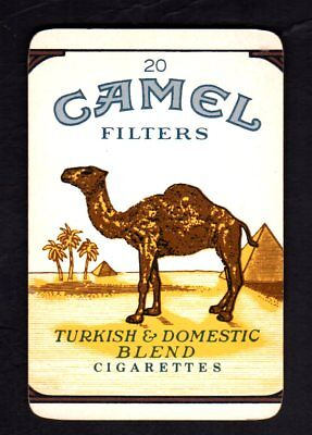 Vintage Swap/Playing Card - Advertisement - Camel Cigarettes