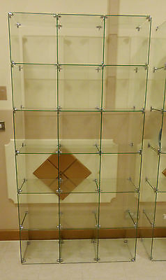 18 Set Of Glass Cube Display Set Retail Display Stand Offer Of The Month!!