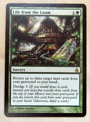 x1 Magic the Gathering MTG Life from the Loam Ravnica MINT