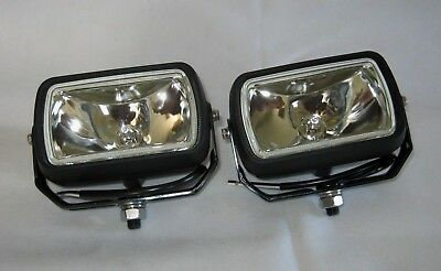 Wipac 2 x 12Volt 55W H3 Spot / Work / Loading / Roof bar Lamp Assembly S7303