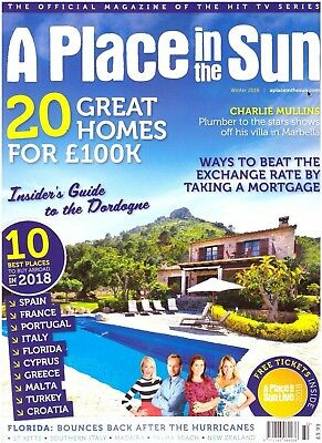 A Place in the Sun Magazine - Winter 2018 - Issue 132