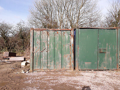 2 x 20ft shipping containers for repair