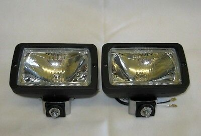 WIPAC 2 x  12Volt 55Watt H3 Halogen Spot / Work / Roofbar Lamp Assembly S7205