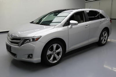 2013 Toyota Venza  2013 TOYOTA VENZA LTD AWD HTD LEATHER PANO NAV 20'S 20K #081274 Texas Direct