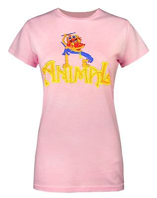 The Muppets Animal Drummer Women's T-Shirt By Worn