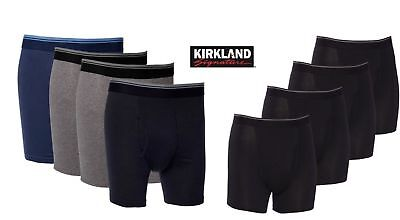 NEW Kirkland Signature Men's Pima Cotton Boxer Briefs- 4 PACK