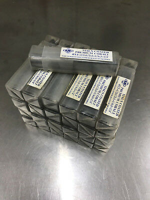 """Cobalt Coated roughing endmill lot 25 pcs 1/2"""" .500 dia """"used"""""""