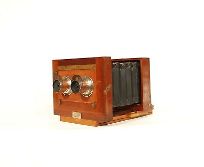 1885 Anthony Stereo Camera w/Factory Septum Notch * New York City * Excellent
