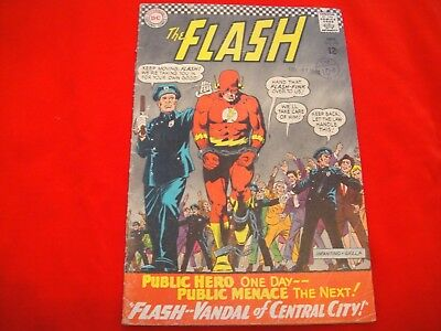 The Flash #164 ~ Sept 1966 ~ Dc Comics ~ Pied Piper Appearance ~ Kid Flash