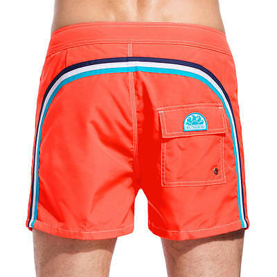 "Sundek - Board Short M502 14"" - 3535 - Colore Fluo Orange - Taglia 34"