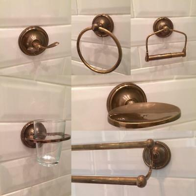 BATHROOM ACCESSORIES BRASS BRONZE TOILET ROLL TOWEL HOLDERS ACCESSORY SET OR 1pc
