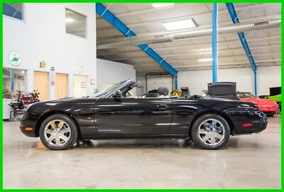 2002 Ford Thunderbird Base Convertible 2-Door 2002 Ford Thunderbird 3.9L V8 Automatic Convertible W/Hardtop Only 125 Miles 02