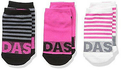 Adidas girls sport Climalite Superlite No Snow Cushioned socks pack of 3 NEW