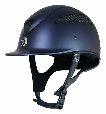 Gatehouse Conquest MkII Riding Hat/Helmet Matt Navy - 55cm