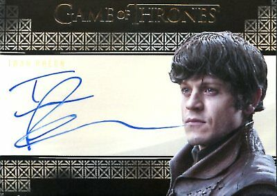 Game Of Thrones Valyrian Steel AUTOGRAPH card IWAN RHEON as RAMSAY BOLTON